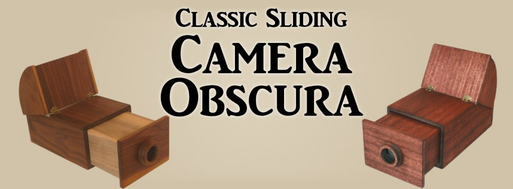 Classic Sliding Camera Obscura Ancient Magic Art Tools